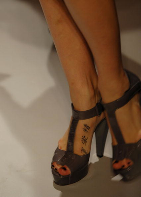 fashion week DKNY shoes